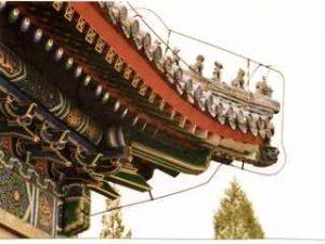 chinesisches Dach